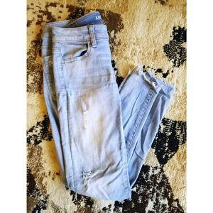 American Eagle Super Stretch Light Wash Jeans
